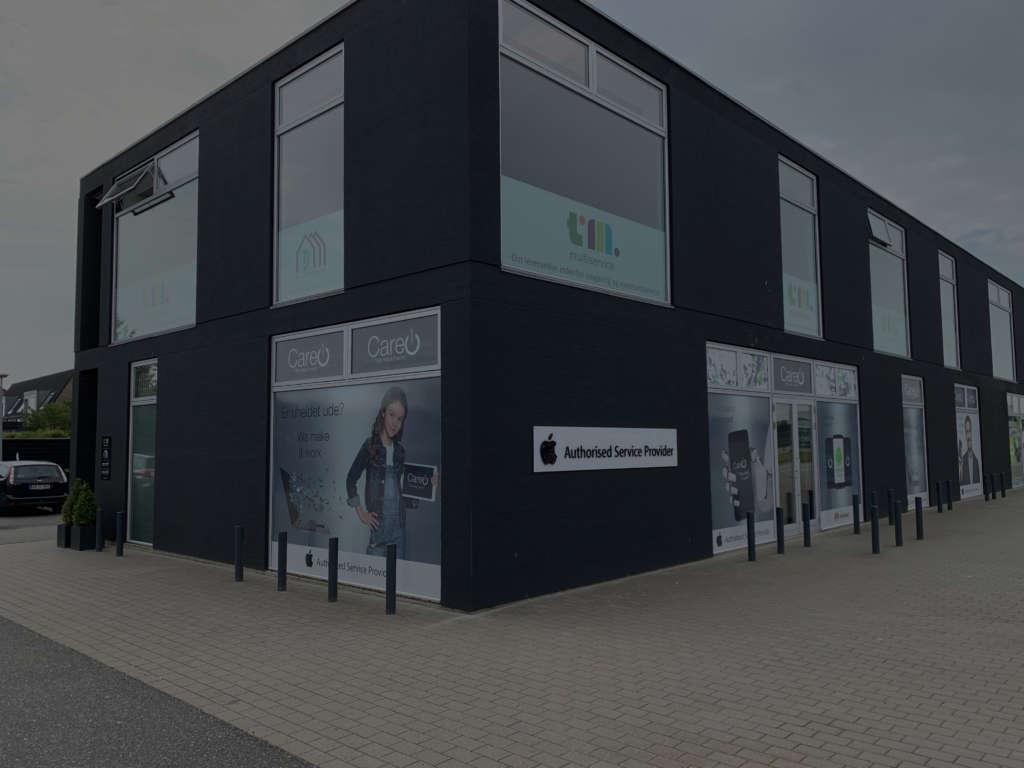 Care1 butik i Aalborg i Danmark