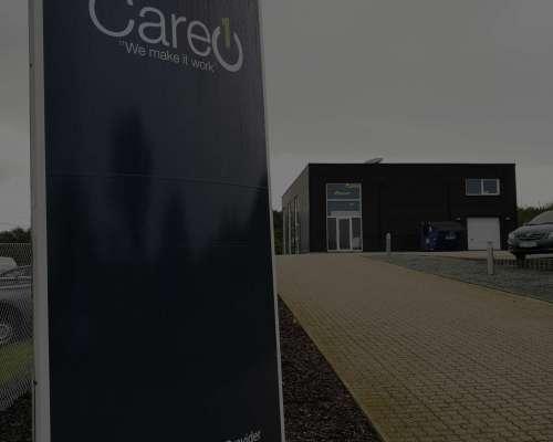 Care1 butik i Rødekro i Danmark
